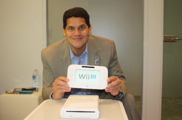 Wii U official Facebook Page and video of Reggie
