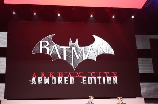 WARNER BROS. INTERACTIVE ENTERTAINMENT ANNOUNCES BATMAN: ARKHAM CITY ARMOURED EDITION FOR Wii U