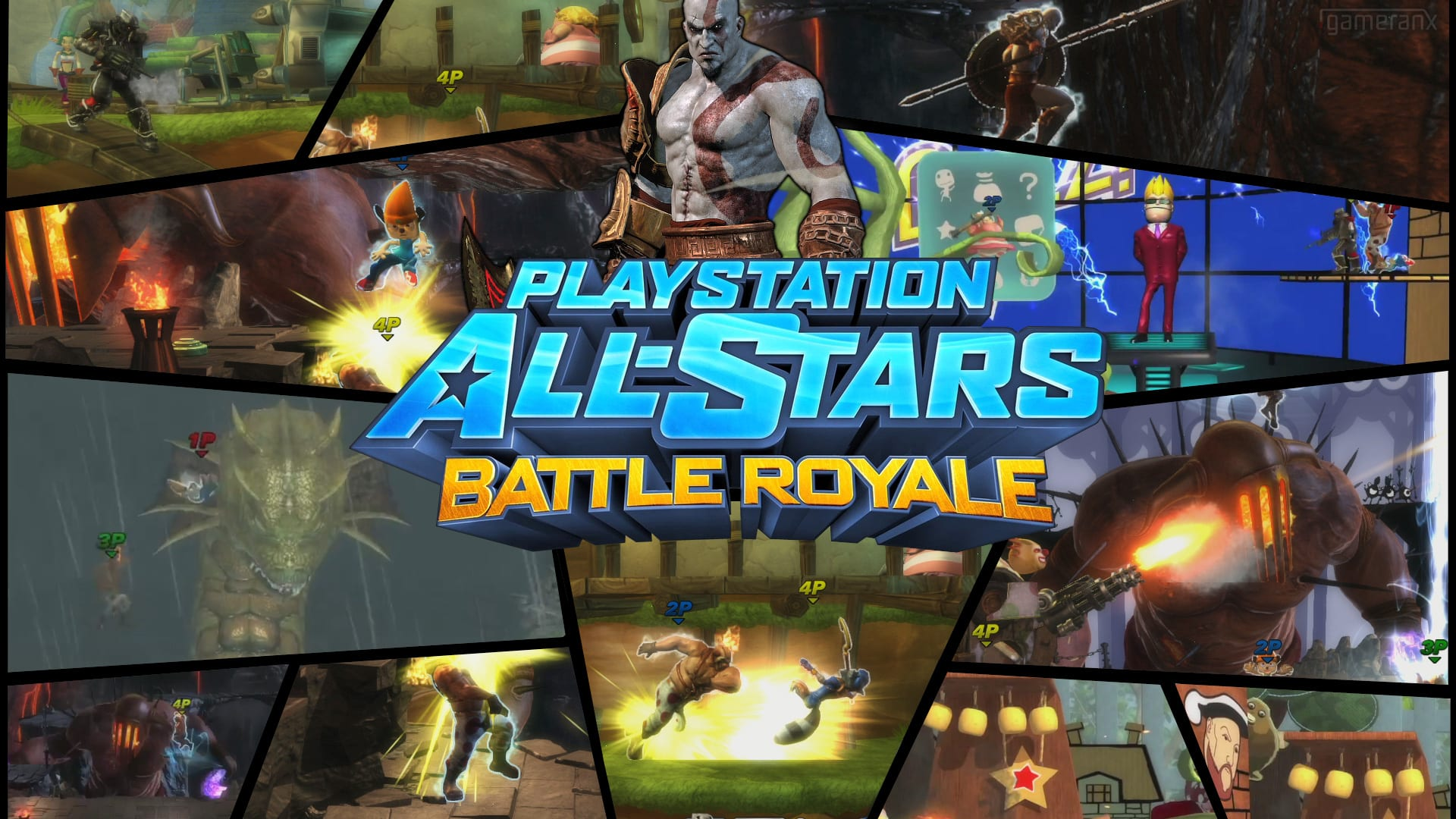 PlayStation All-Stars: Battle Royale are joined by Cole and Jak
