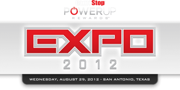 Gamestop Expo on Aug 29th in San Antonio. GameLuster will be attending