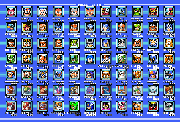 Megaman 1-6 For 3DS