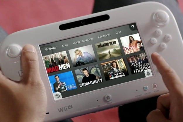 Nintendo WiiU Getting TV features Tomorrow