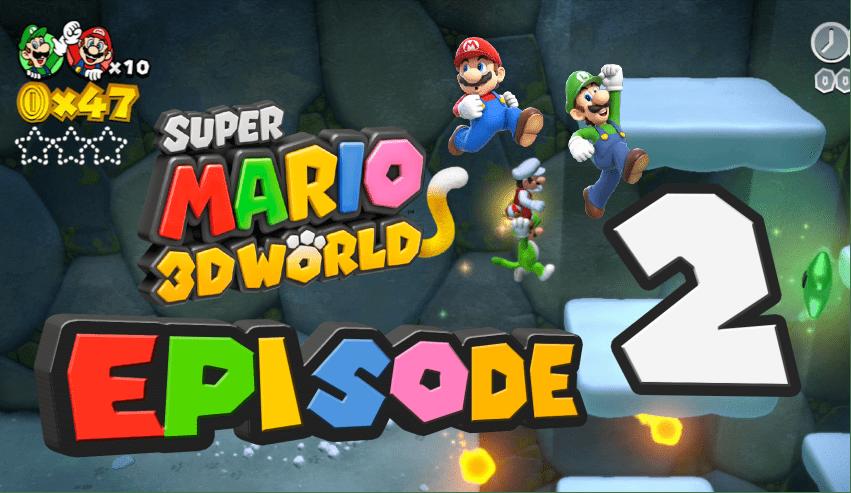 GameLuster Plays Super Mario 3D World Part 2 Koopa Troopa Cave