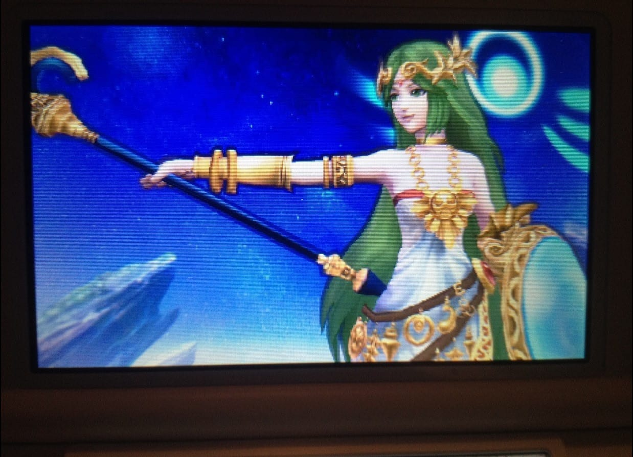 Playable Palutena