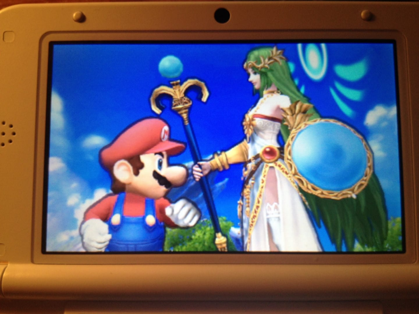 Mario and Palutena