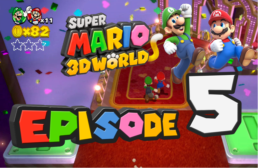 GameLuster Plays Super Mario 3D World – Part 5 Switch Scramble Circus
