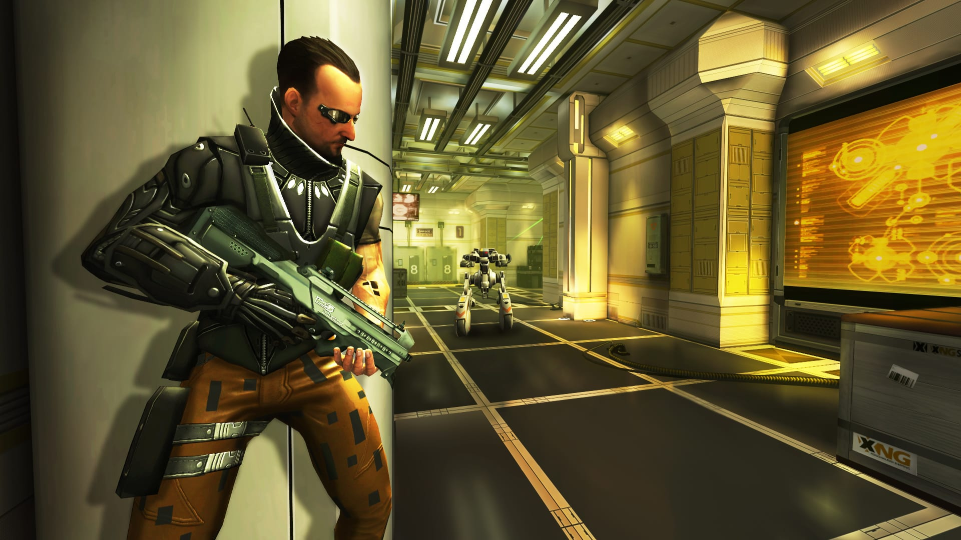 Deus Ex: The Fall porting to the PC.