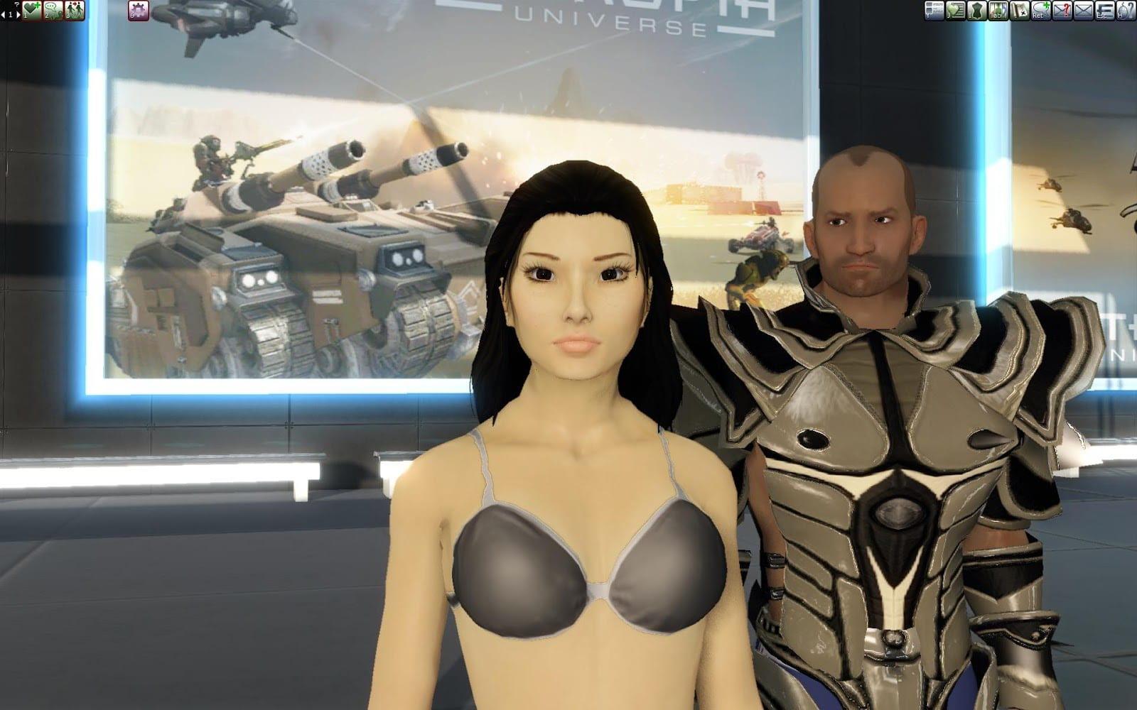 Entropia Universe MMO real life love story.