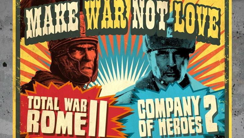 Strategy Giants Company of Heroes and Total War pitted against eachother.