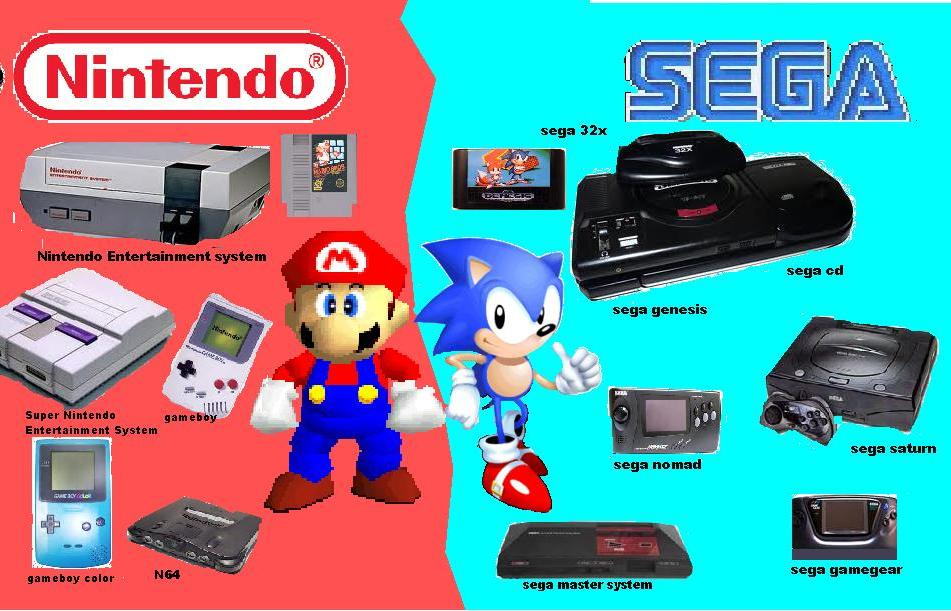 A Console War Movie & Novel Starring Sega & Nintendo Are In The Works