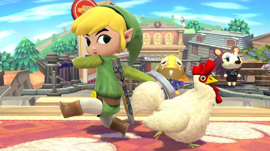 Super Smash Bros Picture of the Day 3/24/14 Cuccos