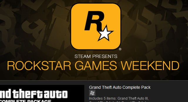 Rockstar Games Weekend