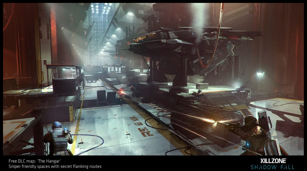 The Hangar DLC map Killzone