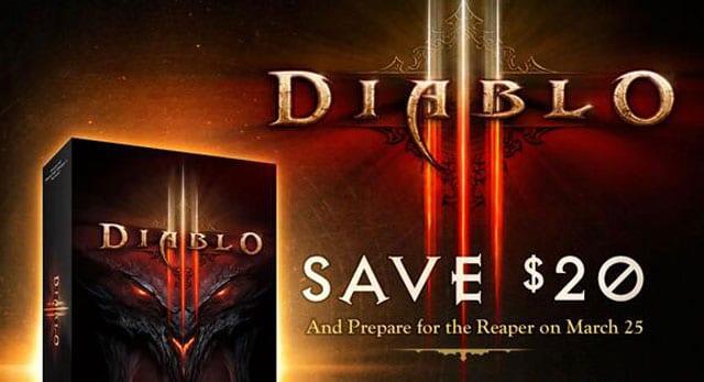 Diablo III 50% Off