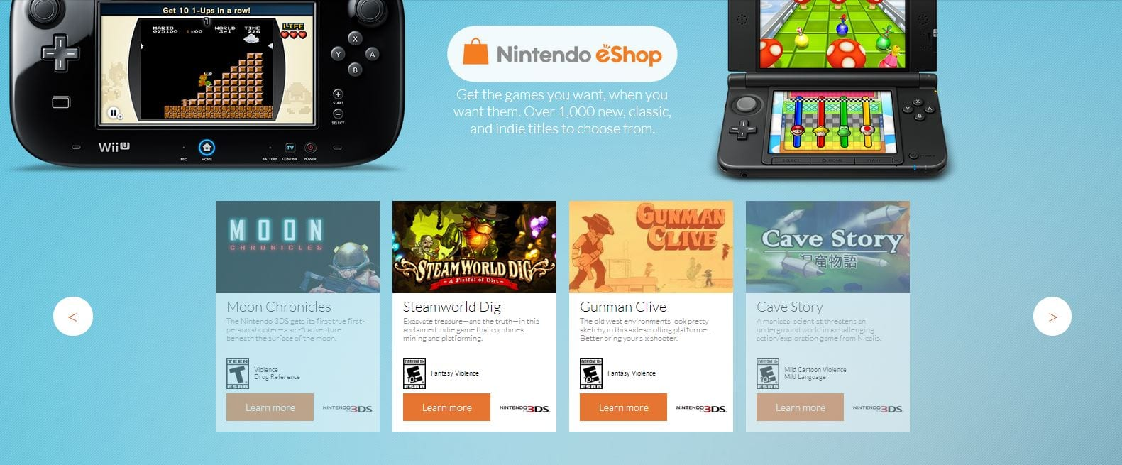 Nintendo Adds Indie Hub to their Website