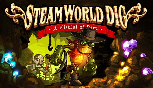 SteamWorld Dig on PS4 and PS Vita