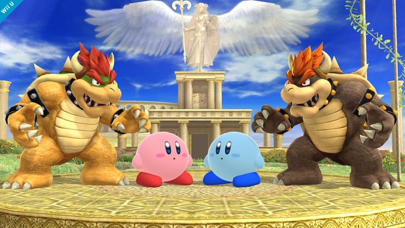 Super Smash Brothers Picture of the day 21-5-14 mirrored stances 2