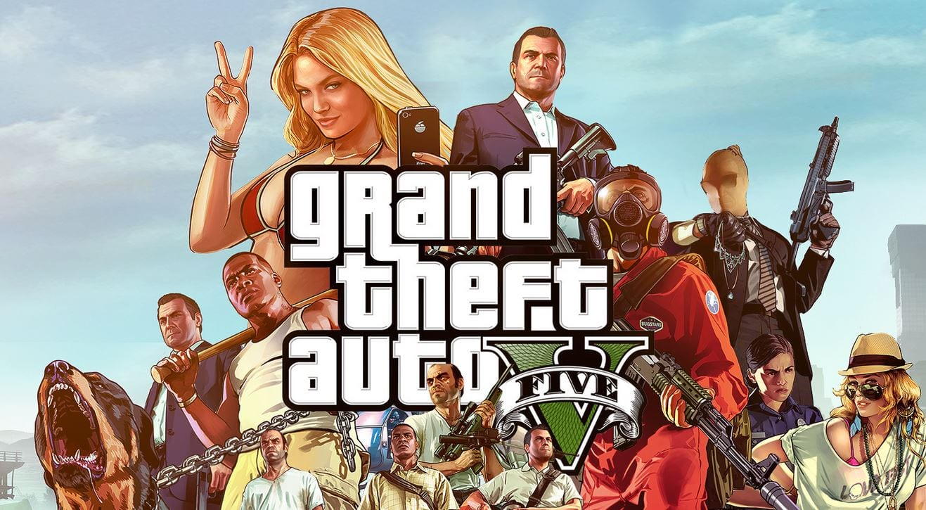 grand theft auto 5 is coming to playstation 4 and xbox one gameluster. Black Bedroom Furniture Sets. Home Design Ideas