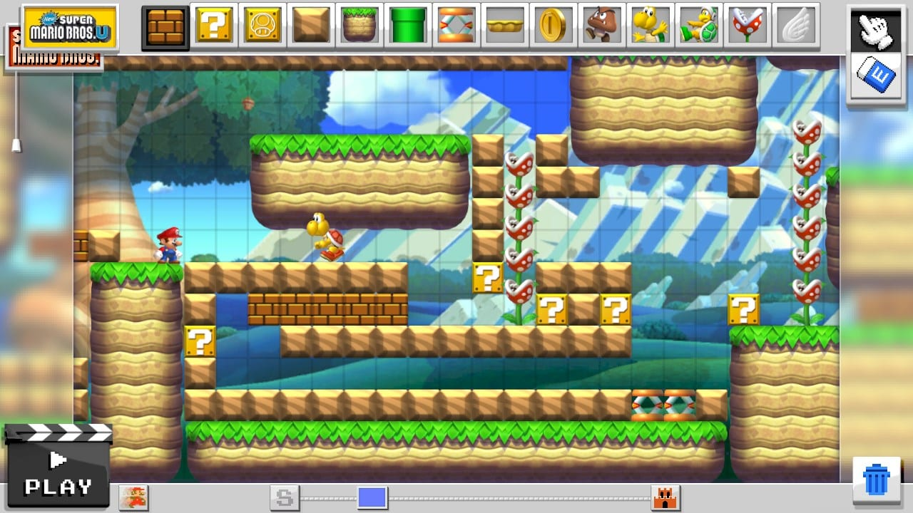 Mario Maker has Mario Brothers 3 and Super Mario World styles - GameLuster