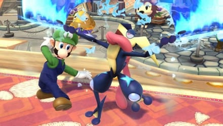 Greninja Super Smash Brothers