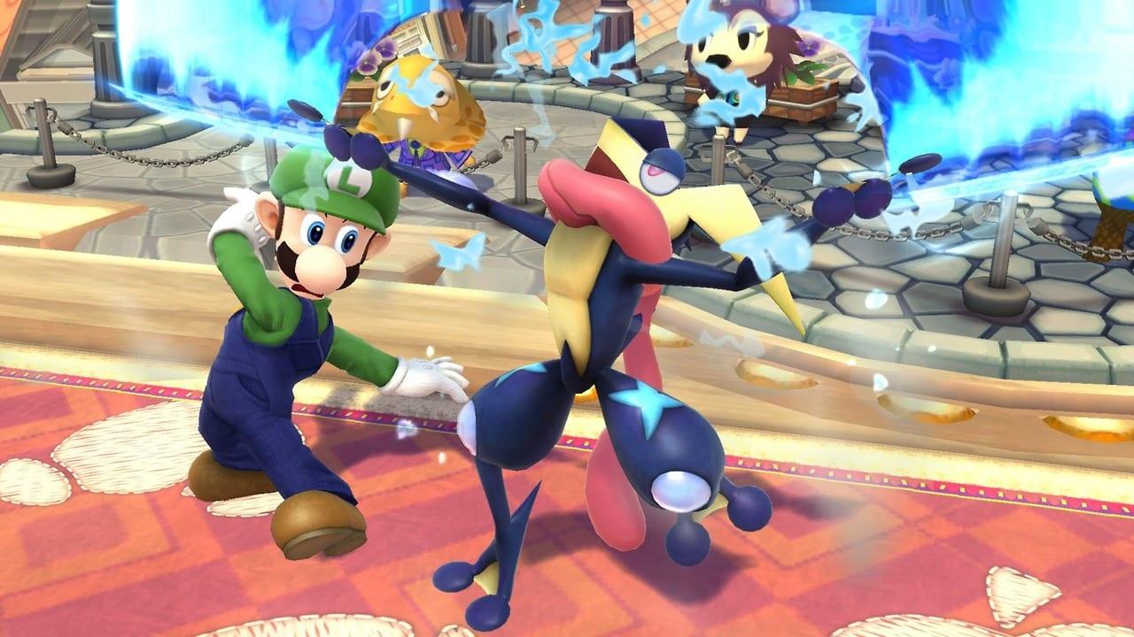 Greninja Super Smash Brothers
