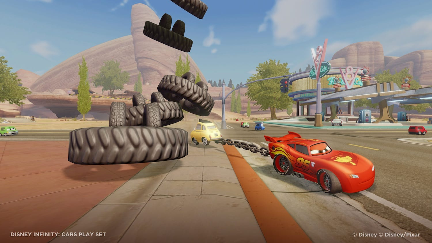 Disney Infinity Cars Playset Review