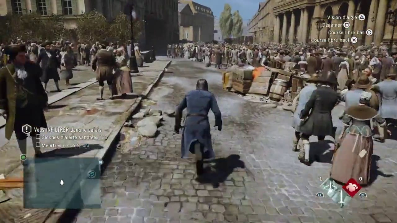 Assassins Creed Unity people