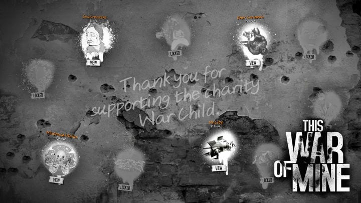 This War of Mine charity