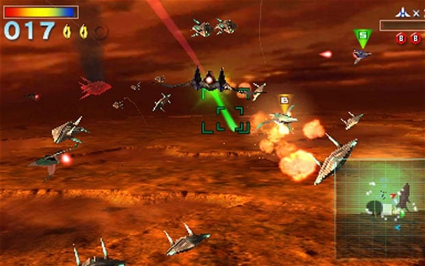 Star Fox 64 dogfight
