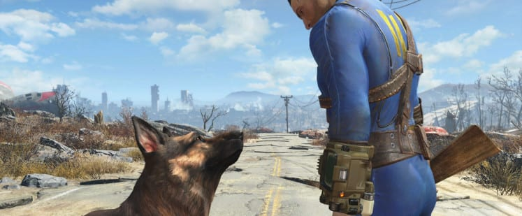 Fallout 4 a man and his dog