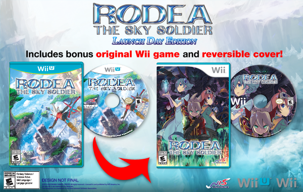 Rodea the Sky Soldier Launch Day Edition