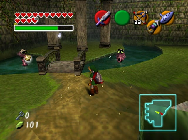 The Legend of Zelda Ocarina of TIme review 3