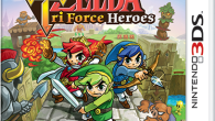The Legend of Zelda Tri Force Heroes box art