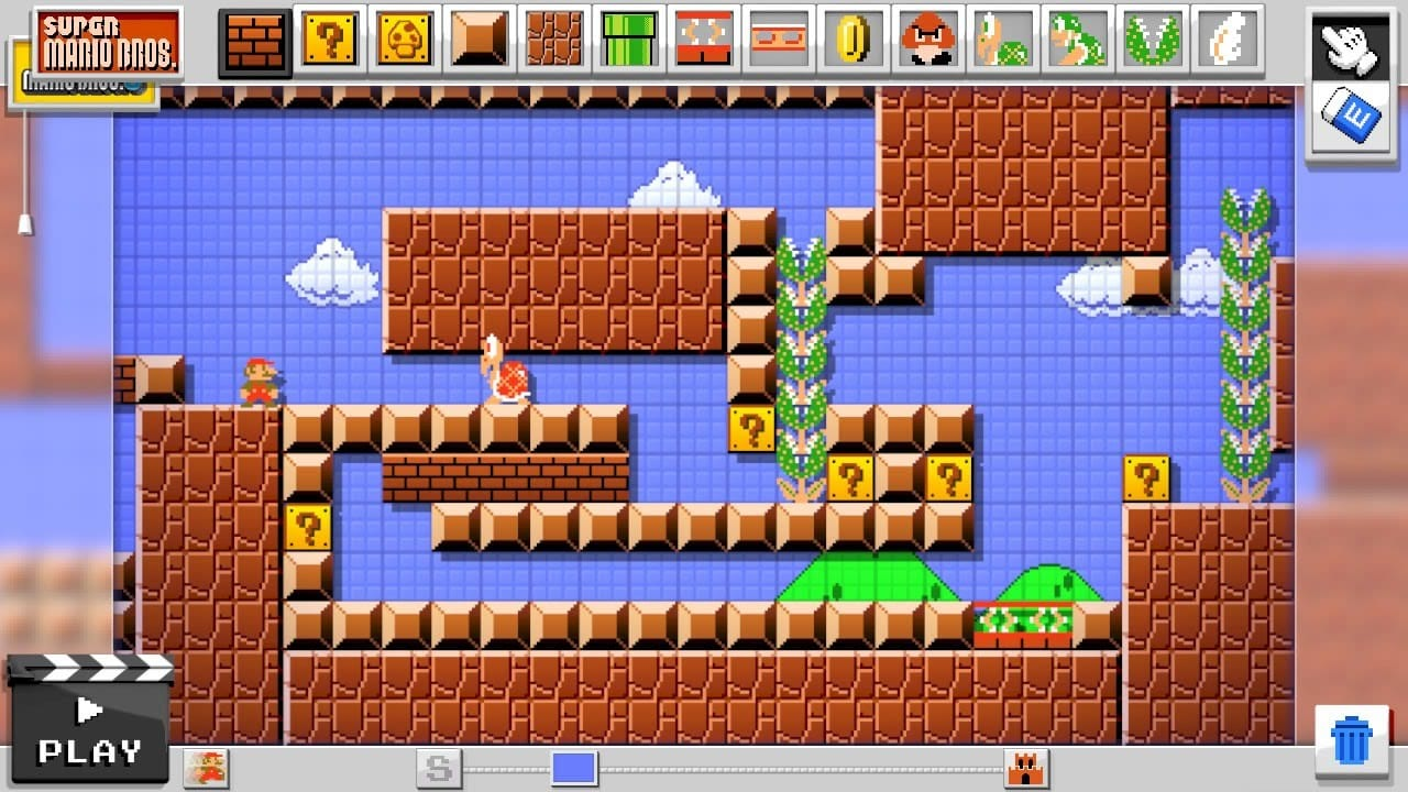 Over one million courses have been uploaded on Super Mario