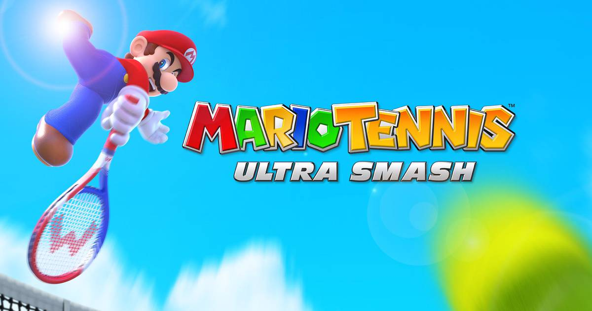 Mario Tennis Ultra Smash 1