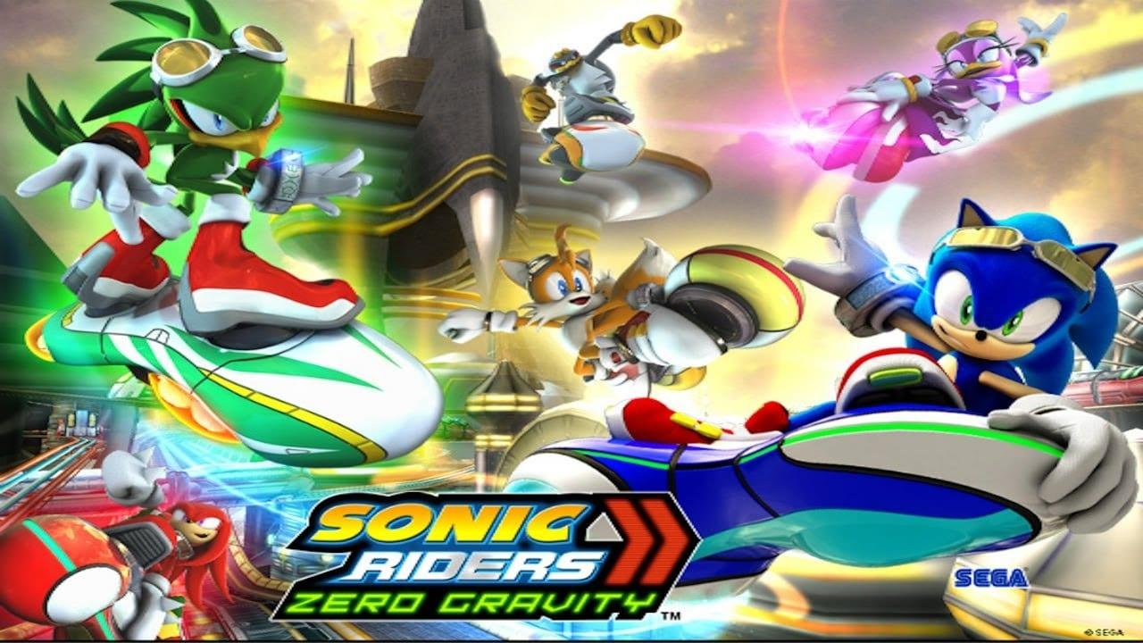 Sonic Riders Zero Gravity main