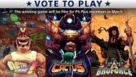 Sony March Vote to Play