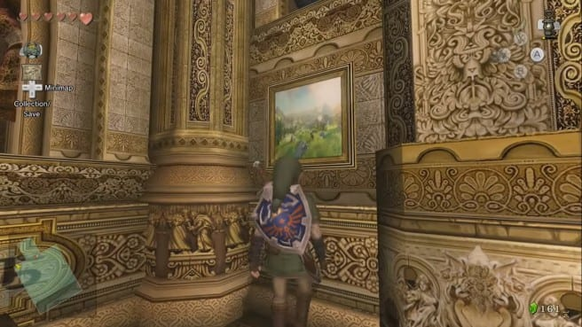 The Legend of Zelda Twilight Princess HD Zelda U Easter Eggs closer
