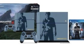 Uncharted 4 A Thief's End Limited Edition console