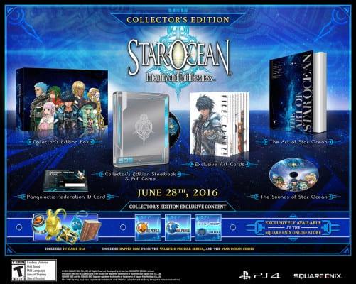 Star Ocean 5 collectors edition