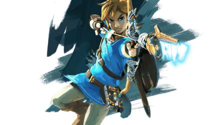 Zelda U new artwork