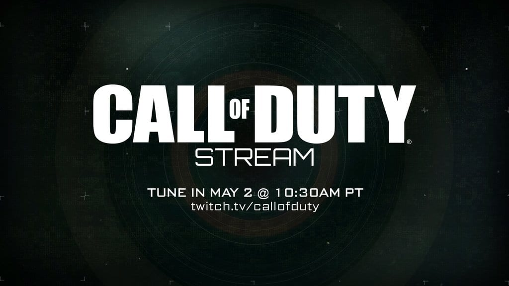Call of Duty Twitter announcement 2016