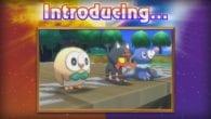 Pokemon Sun and Moon starter Pokemon