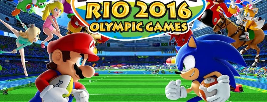 Mario and Sonic at the Rio 2016 Olympic Games main