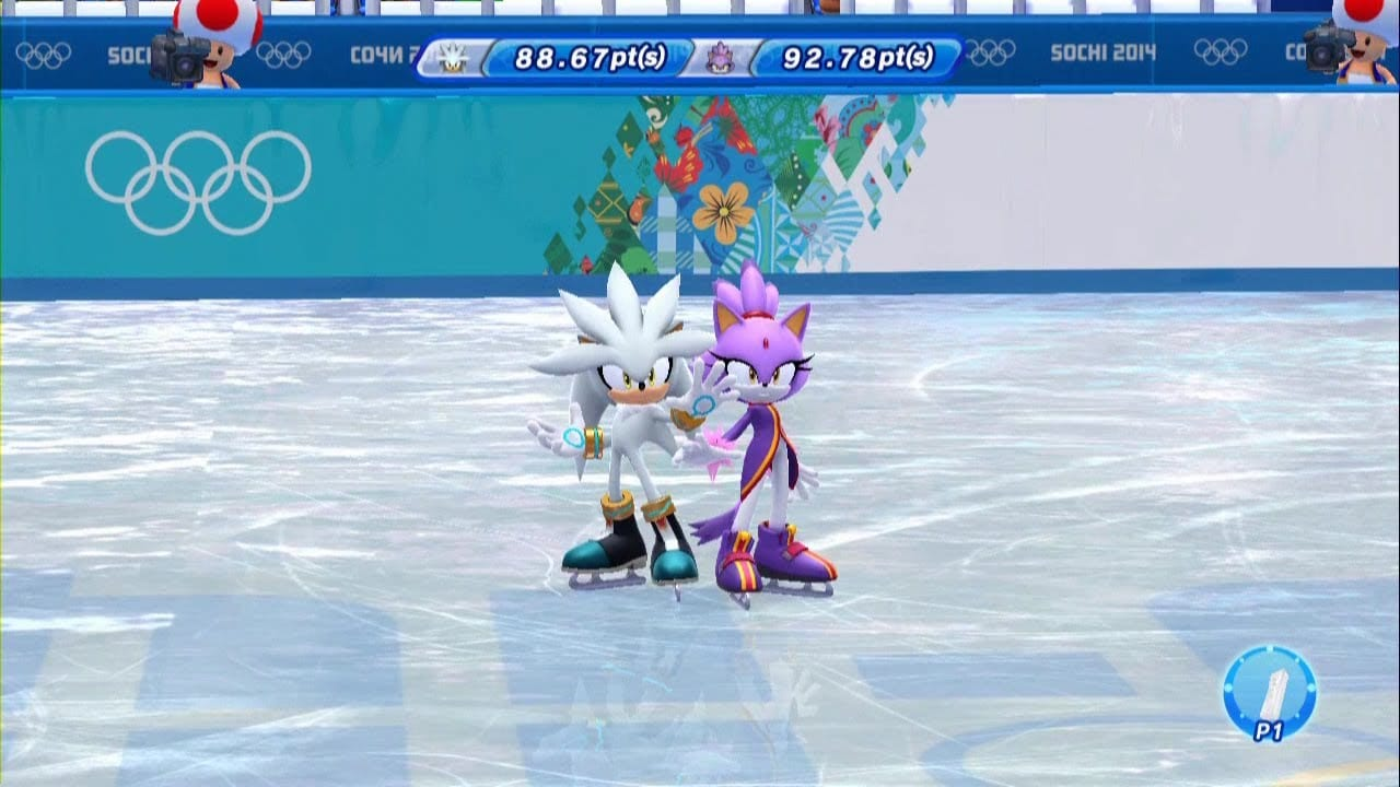 Mario and Sonic at the Sochi 2014 Olympic Winter Games review 1
