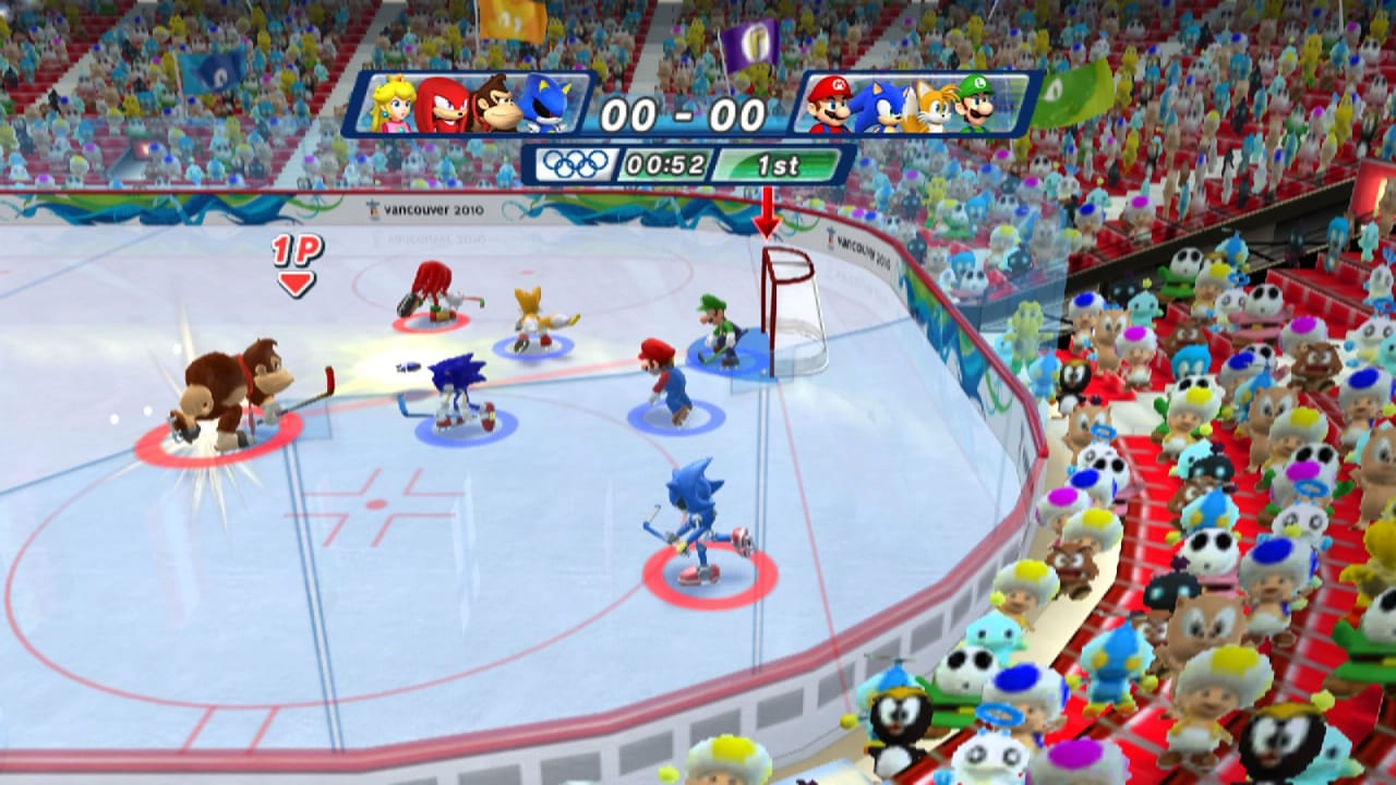 Mario and Sonic at the Sochi 2014 Olympic Winter Games review 2