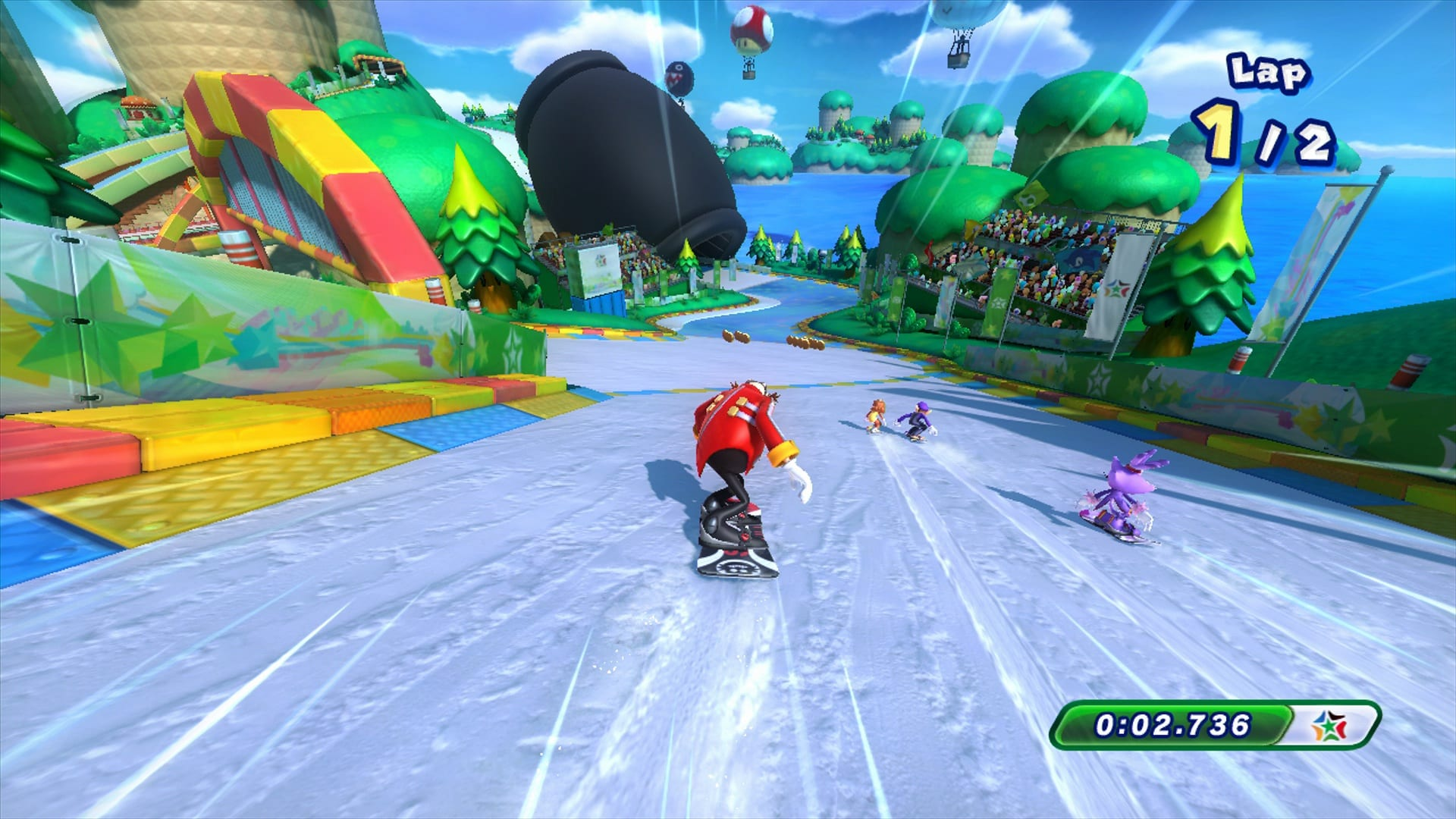 Mario and Sonic at the Sochi 2014 Olympic Winter Games review 3