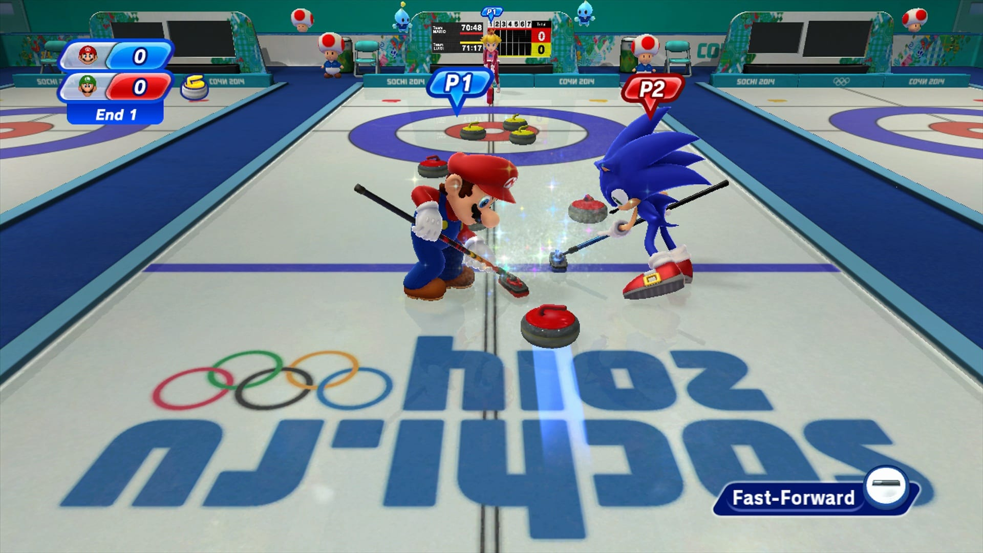 Mario and Sonic at the Sochi 2014 Olympic Winter Games review 4