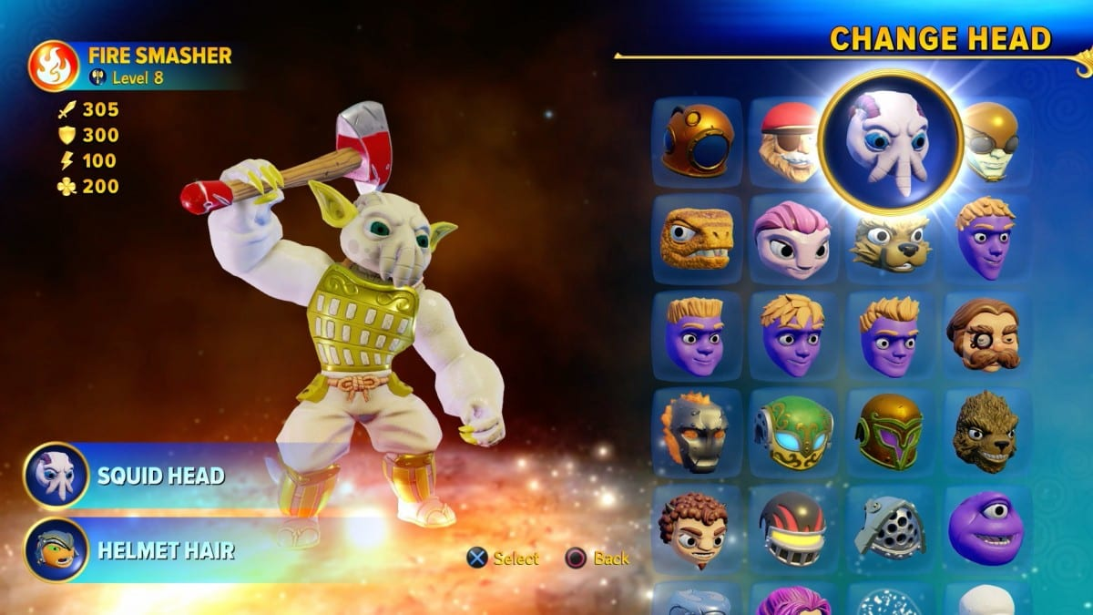 Skylanders Imaginators character creation
