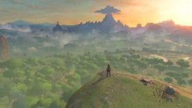 The Legend of Zelda Breath of the Wild an expansive world